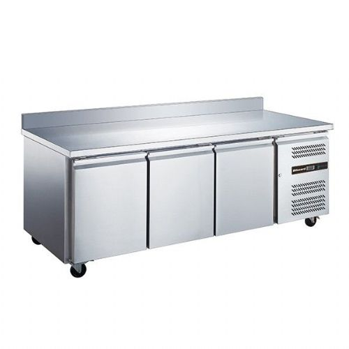 Blizzard LBC3SL 3 Door Slimline 600Mm Depth Freezer Counter 339L